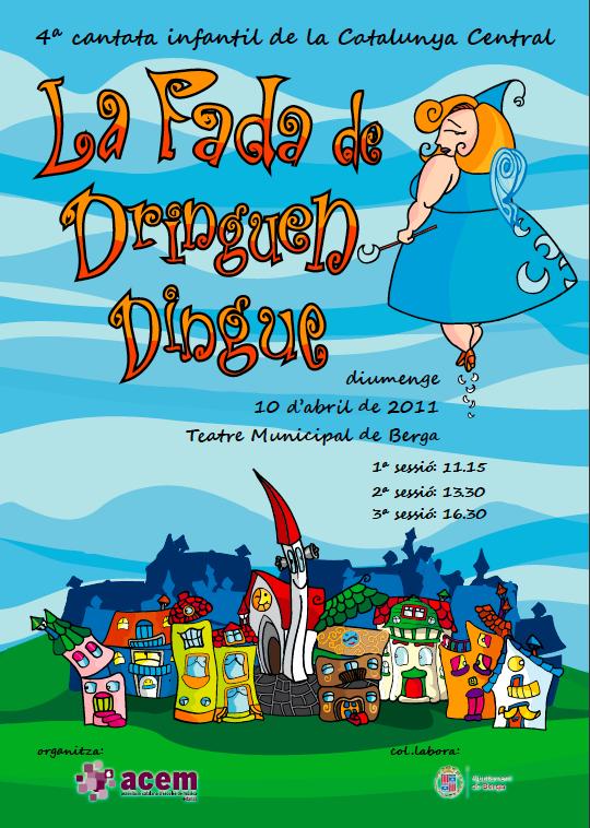 La fada de Dringuen Dingue – 4ª Cantata infantil de la Catalunya central