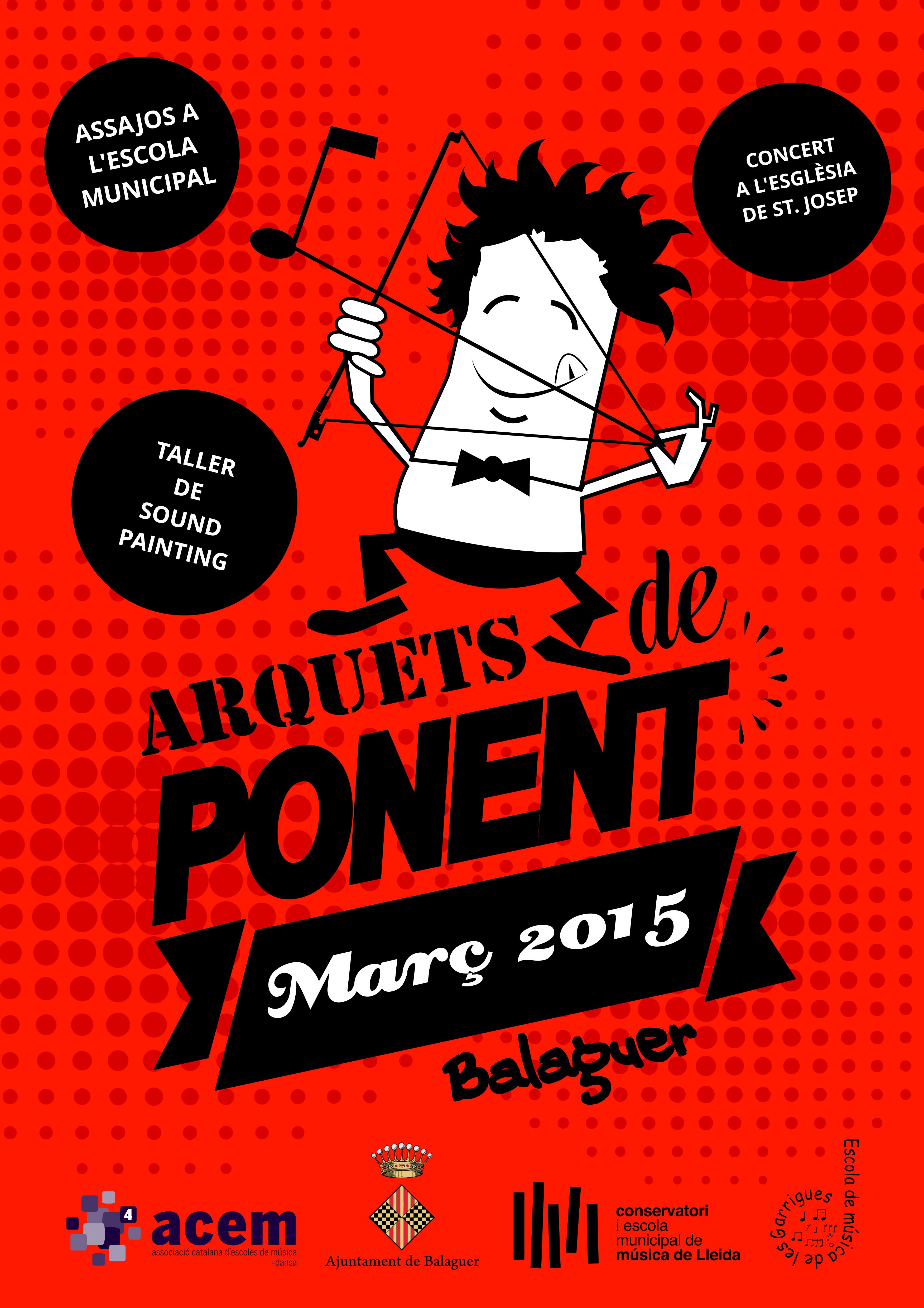 ARQUETS DE PONENT, Trobada d'instruments de corda fregada a Balaguer