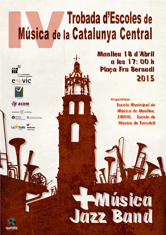 +Música Jazz Band: 4a Trobada d'escoles de música de la Catalunya Central