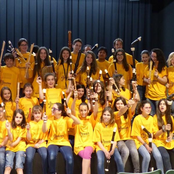 Concert final de les 10º Trobades de Flautistes de Bec de Catalunya