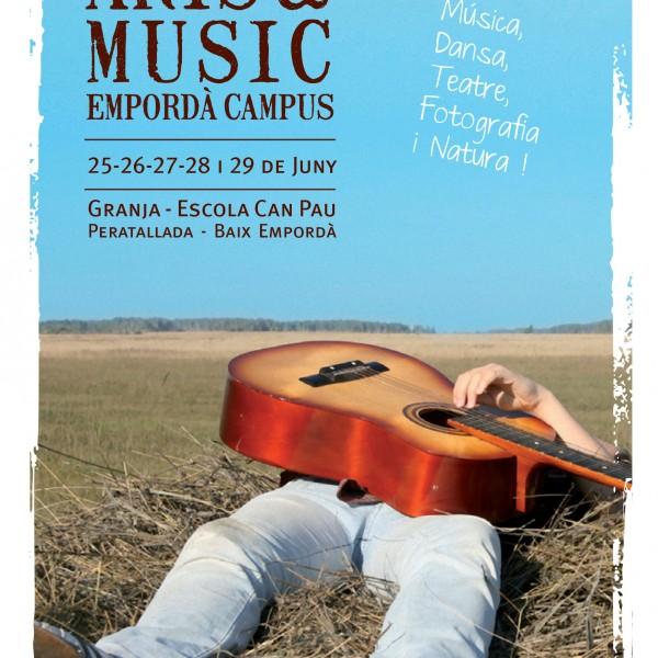 Arts&Music Empordà Campus del 25 al 29 de juny