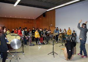 Trobada de percussió de les escoles de música de Catalunya a El Prat de Llobregat
