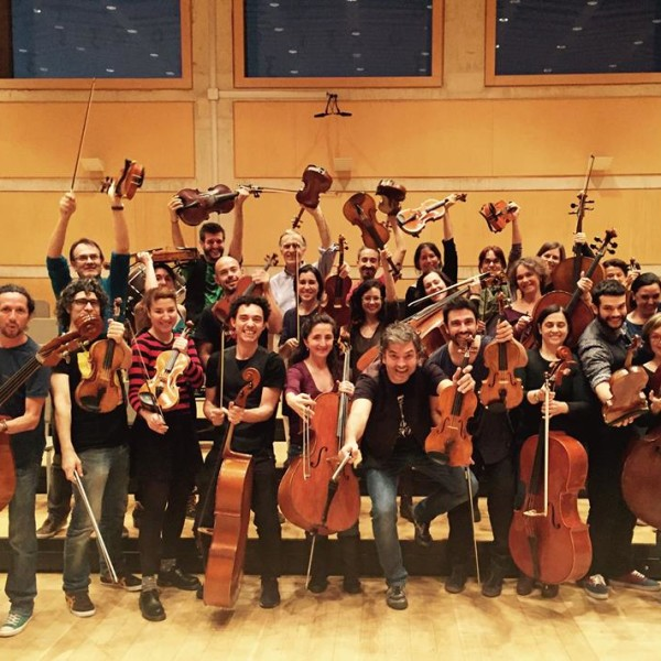 Sessió formativa per al professorat de corda que vol participar a la Trobada Fiddle 2016