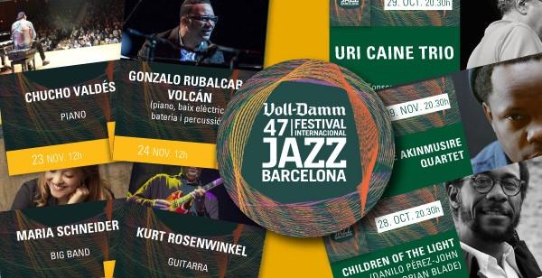Descomptes per estudiants i professorat de música al Voll Damm Festival Internacional de Jazz de Barcelona
