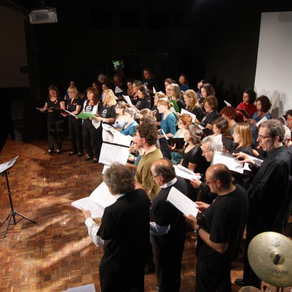 """Trobada coral i instrumental d' alumnes adults """"Música per a tots"""" a Sant Celoni"""