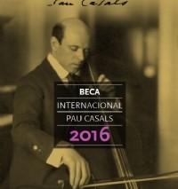 Oberta la convocatòria de la Beca Pau Casals per a joves violoncel·listes