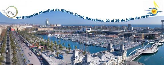 Ja et pots inscriure al Simposi Mundial de Música Coral que es farà a Barcelona
