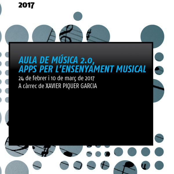 Curs de formació de l'EMMPAC: Apps per l'ensenyament musical