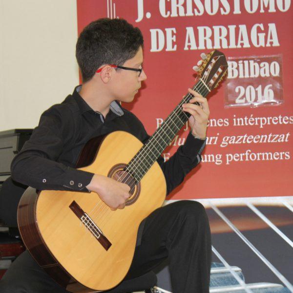 Oberta la convocatòria del 6º Concurs de guitarra J.C. Arriaga a Bilbao