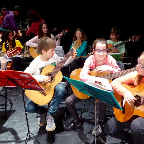 Trobada de guitarres de la zona 7 de l'ACEM a Igualada