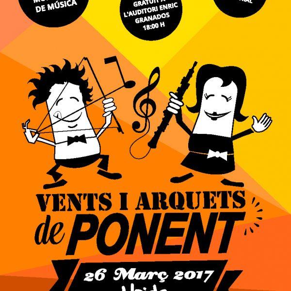 Trobada de vents i arquets de ponent el 26 de març a Lleida