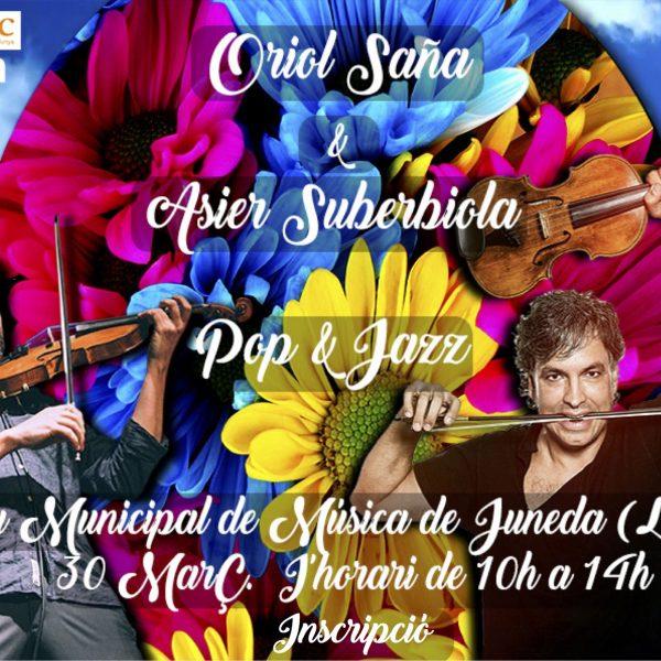 Curs de Fiddle Pop&Jazz a Juneda el dijous 30 de març