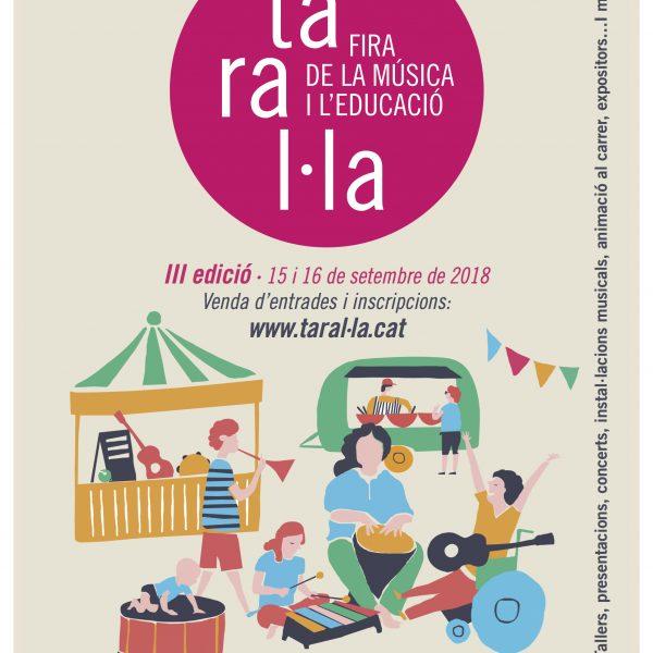 Taral·la, la Fira de la Música i l'Educació es consolida amb la tercera edició.