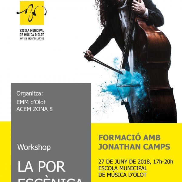 """Curs de formació: """"La por escènica. Introducció als aspectes psicofísics de la interpretació i la pràctica instrumental"""" a Olot el 27 de juny"""