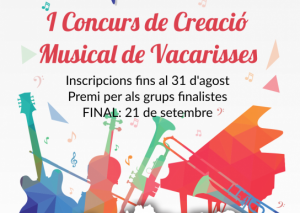 I Concurs de Creació Musical Jove a Vacarisses