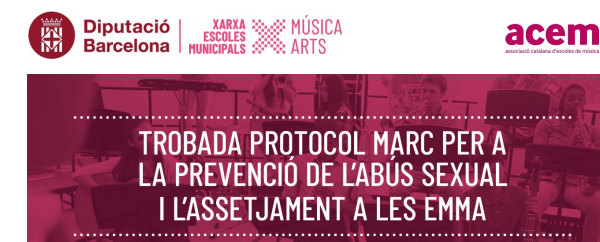 Enquesta adreçada al personal de les escoles de música , dansa i centres de les arts per a l'elaboració d'un Protocol Marc d'abús sexual i assetjament