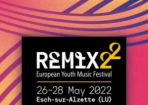 El proper Festival de Joves Músics Europeus es celebrarà a Luxemburg del 26 al 28 de maig de 2022
