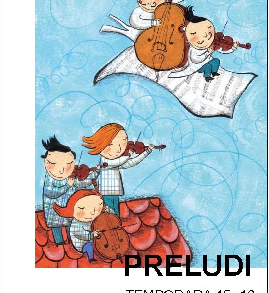 Projecte Preludi Auditori de Bacelona per escoles de música