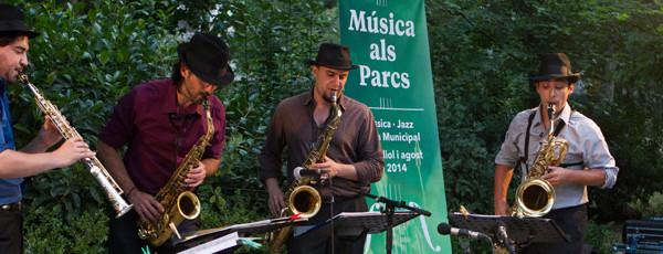 Convocatòria oberta de música als parcs i jardins de joves intèrprets de clàssica i jazz
