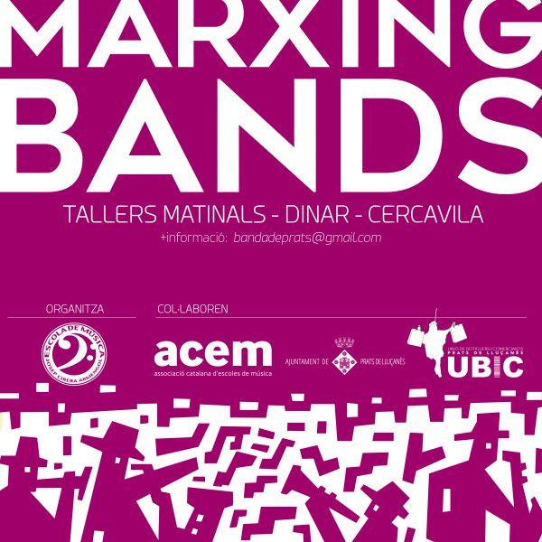 4a Trobada Marxing Bands de Prats de Lluçanès el 13 de maig