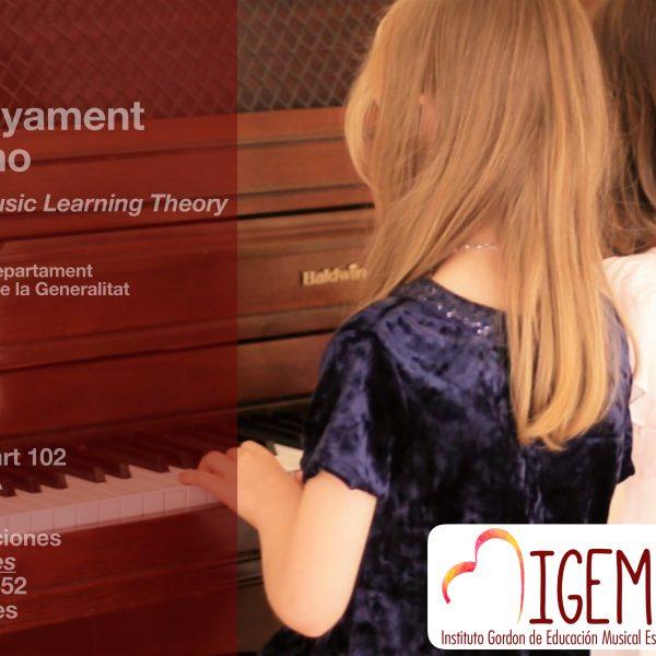 """Curs de formació """"L'ensenyament del piano segons la Music Learning Theory"""" amb Marisa Pérez"""