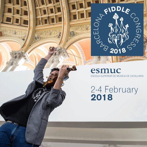 Inscripcions obertes a la 3a edició del Barcelona Fiddle Congress