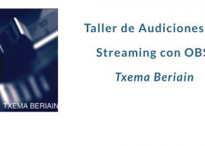 UEMyD organitza un Taller d'audicions en streaming