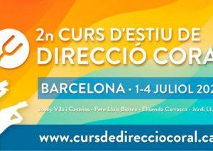 2n Curs d'estiu de Direcció Coral organitzat per la FCEC i el SCIC