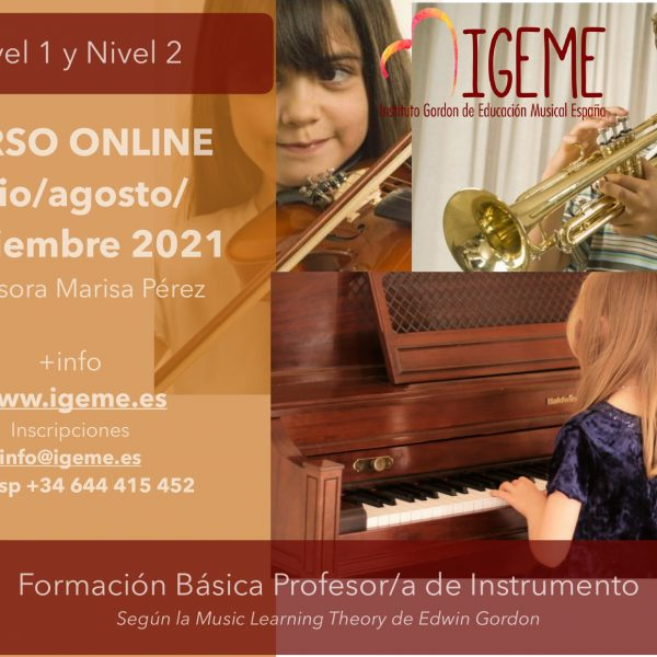 IGEME ofereix aquest estiu una formació per a professorat d'instrument en línia